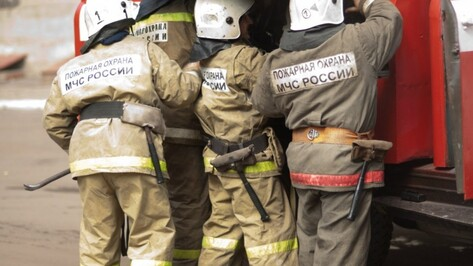 Под Воронежем на пожаре нашли тело 42-летнего мужчины