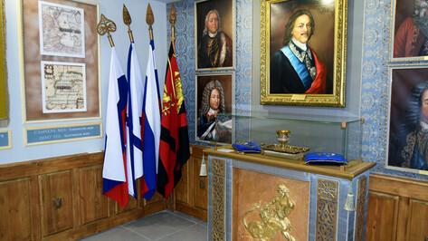 Воронежские флаги и затонувшие фрегаты. Чем интересен новый зал «Петровских кораблей»