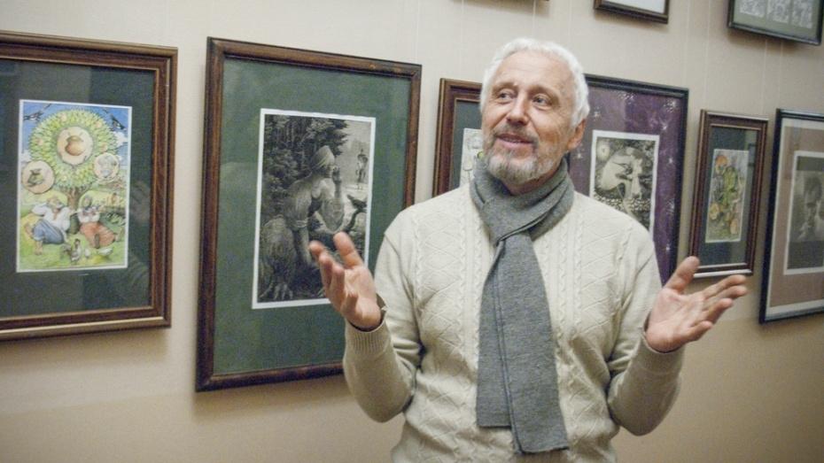 Лискинцев пригласили на творческий вечер художника и литератора Александра Аникеева