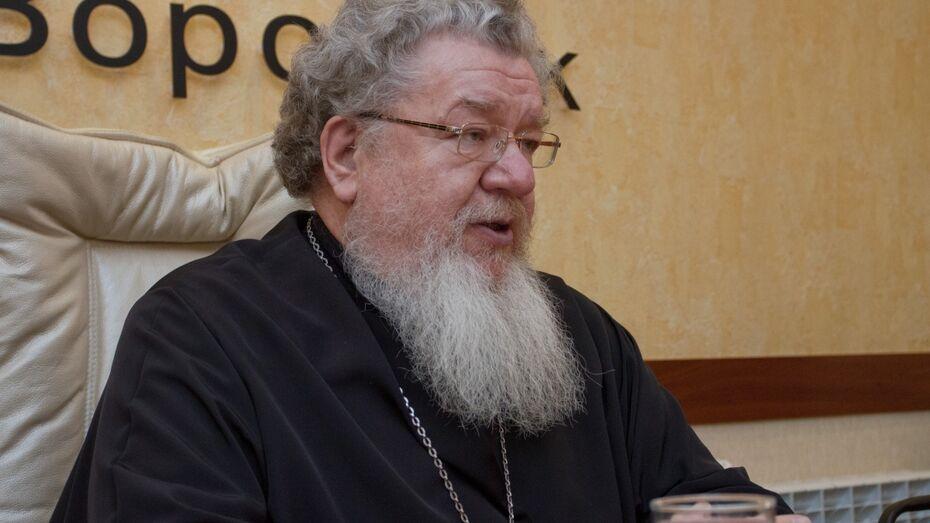Митрополит Воронежский и Лискинский Сергий: «Роспись Благовещенского собора надеемся завершить через два года»