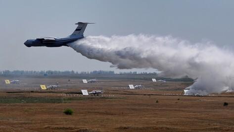 Воронежские спасатели подготовили авиацию для тушения возможных пожаров после «Авиадартса»