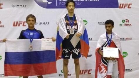 Воронежский боец завоевал серебряную медаль первенства мира по ММА