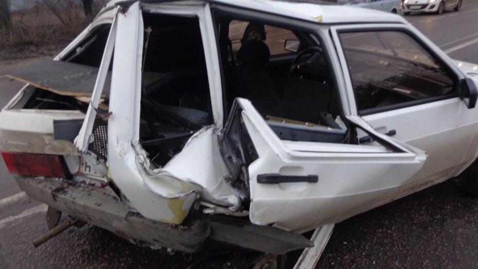 В Воронеже 3 человека пострадали в ДТП в Левобережном районе