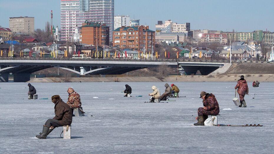 Спасатели насчитали 170 рыбаков на Воронежском водохранилище