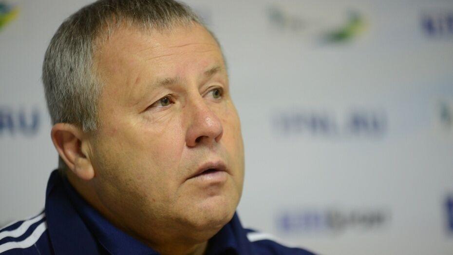 Тренер воронежского «Факела» Павел Гусев: «Результат соответствует игре»