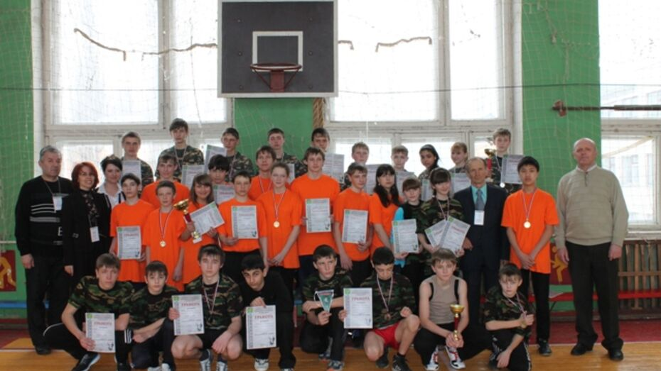Две поворинские команды вышли в финал зональных соревнований военно-спортивной игры «Победа»