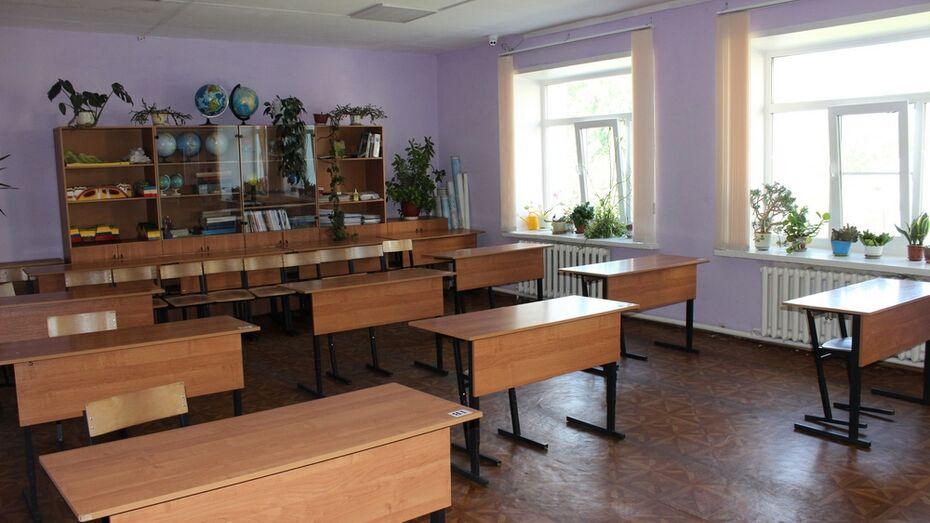 На карантин закрыли класс в хохольской сельской школе