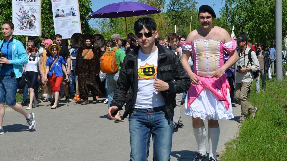 В Воронеже любители аниме выйдут в костюмах на Адмиралтейскую площадь