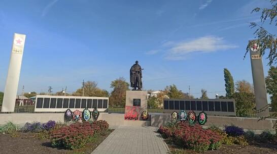 Новую скульптуру солдата установили в таловском поселке Абрамовка