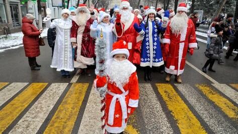 В Воронежской области в новогодних мероприятиях поучаствовали свыше 500 тыс человек