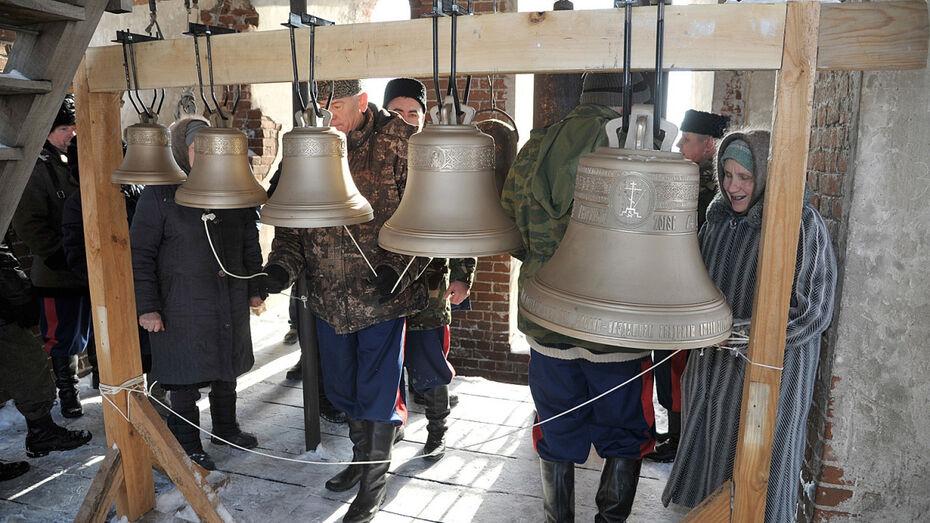 Сельскому храму подарили 5 колоколов после публикации РИА «Воронеж»