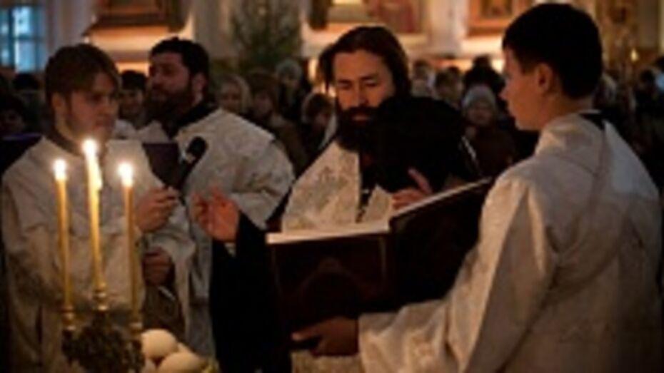 Епископ Россошанский и Острогожский поздравил жителей Воронежской области с Рождеством