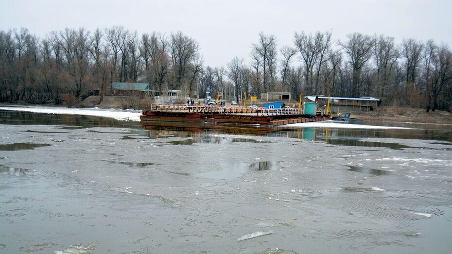В Воронежской области из-за ледохода на Дону прервалось движение между тремя районами