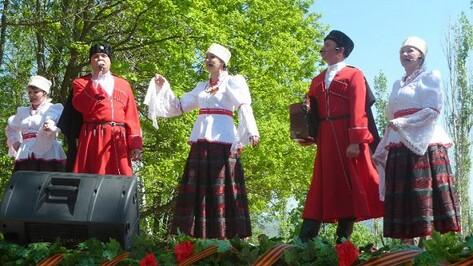 Казачий ансамбль из Семилук стал лучшим народным коллективом области