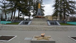 В Россоши усовершенствовали конструкцию Вечного огня у братской могилы