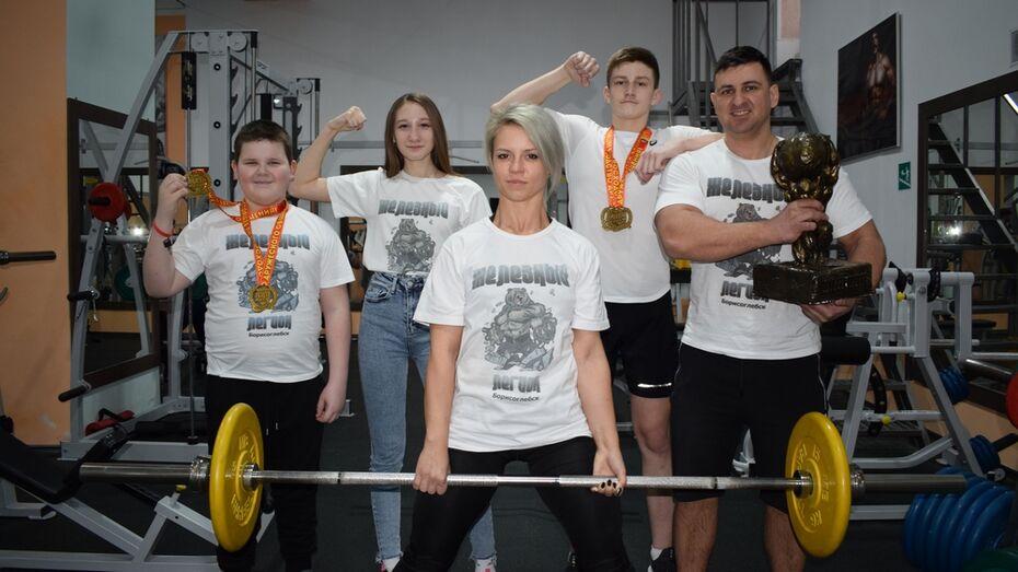 Команда борисоглебских пауэрлифтеров впервые за 5 лет победила в Кубке России