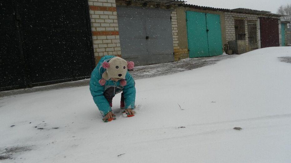 В Кантемировский район вернулись зима и снегопады