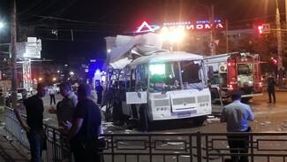 Еще 2 человека обратились за медпомощью после взрыва автобуса в Воронеже