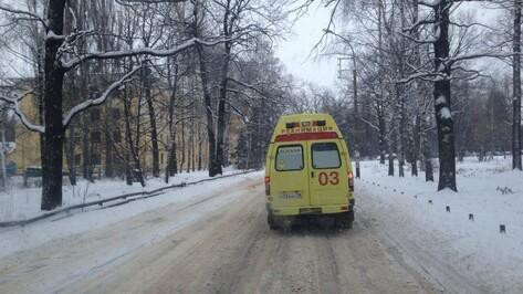 В Воронеже на улице Ленина в ДТП пострадал мальчик