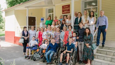 В Воронеже торжественно открыли игровую и прогулочные зоны на территории детского хосписа