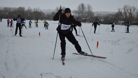 В Эртильском районе прошли лыжные гонки на кубок районной газеты