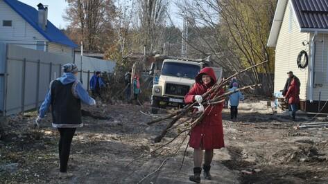 Месячник благоустройства в Семилукском районе начнется на 2 недели раньше