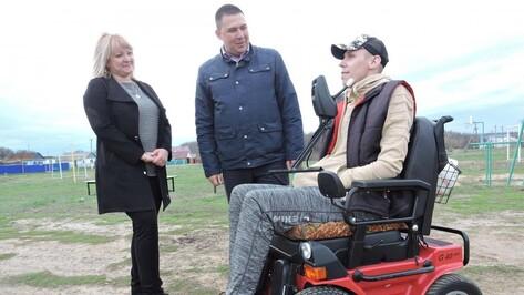 Желание быть полезным. Как воронежский инвалид планирует преобразить родной хутор