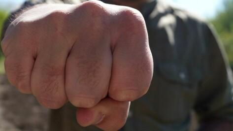 Житель Воронежской области ударил сотрудника Росгвардии кулаком в лицо