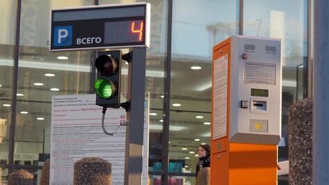 Платные парковки на улицах Воронежа запустят осенью 2017 года