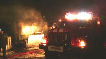 В Воронежской области при пожаре погиб 54-летний мужчина