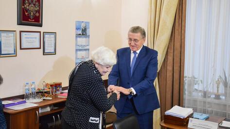 Сенатор от Воронежской области Сергей Лукин провел личный прием граждан