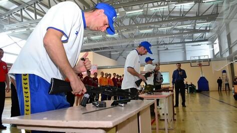 В Грибановском районе впервые прошли военно-спортивные соревнования