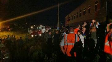 Загоревшийся под Воронежем вагон поезда потушили за 2 часа