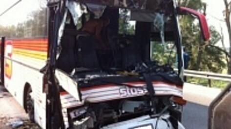 В Воронежской области 3 человека пострадали в ДТП с автобусом Геленджик-Москва