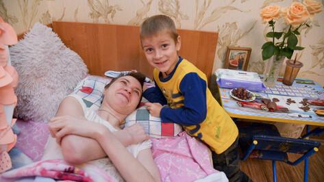 Сказка для Кирюши. Парализованная мать из Воронежа мечтает о новогоднем чуде для сына