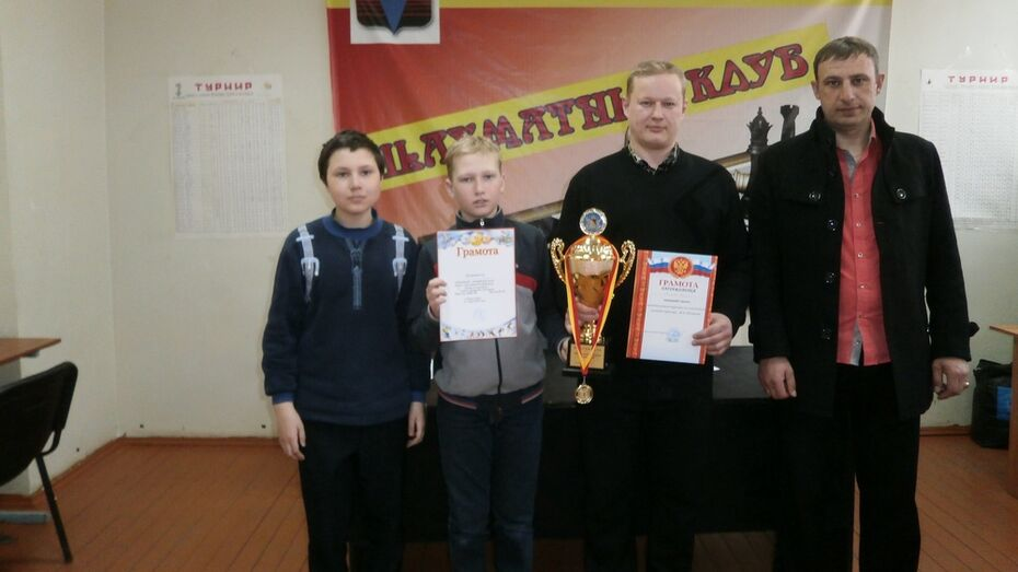 Кантемировец стал победителем шахматного турнира в Борисоглебске