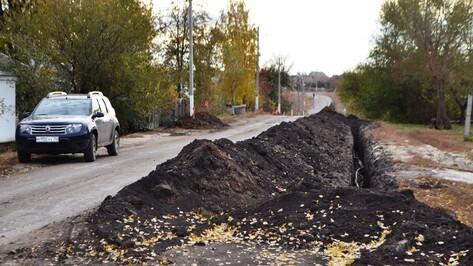 В нижнедевицком поселке на средства ТОС построили водопровод