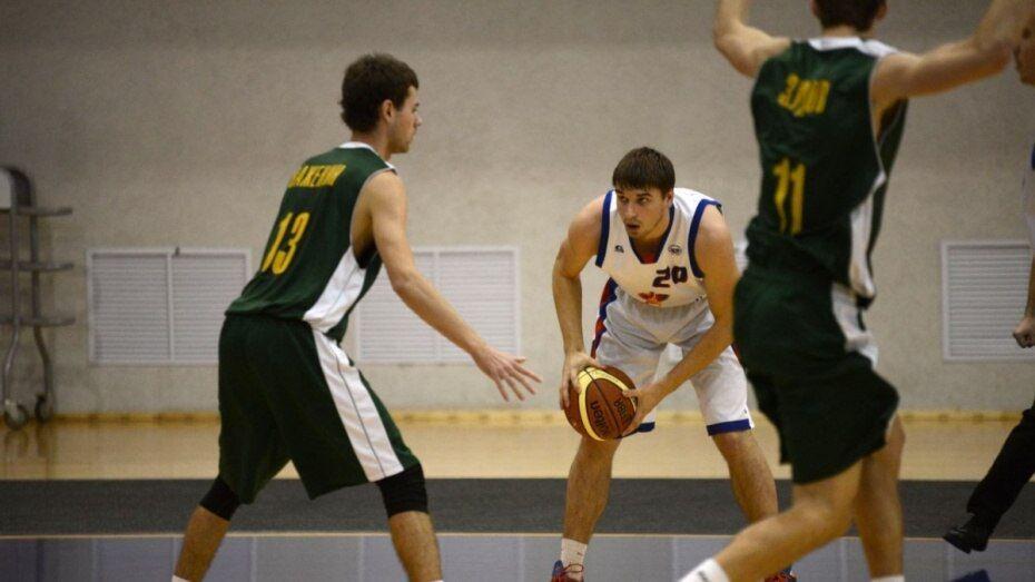 Воронежские баскетболисты проиграли в Черкесске