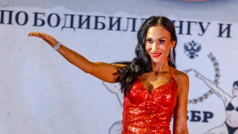 Спортсменка из Боброва выиграла «бронзу» Кубка Черноземья по бодибилдингу
