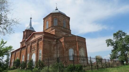 В Борисоглебском округе отремонтируют построенный в XIX веке храм