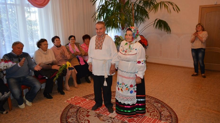 Петропавловские пенсионеры сыграли свадьбу в народном стиле