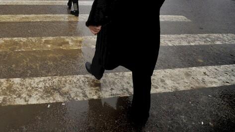 В Острогожске ВАЗ сбил пенсионерку на пешеходном переходе