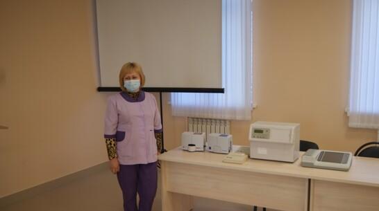Новое оборудование стоимостью 1,5 млн рублей поступило в Воробьевскую райбольницу