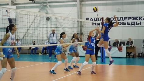 Волейбольный «Воронеж» дома проиграл московскому «Динамо»