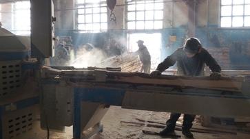 На базе колонии под Воронежем запустили линию по распиловке древесины