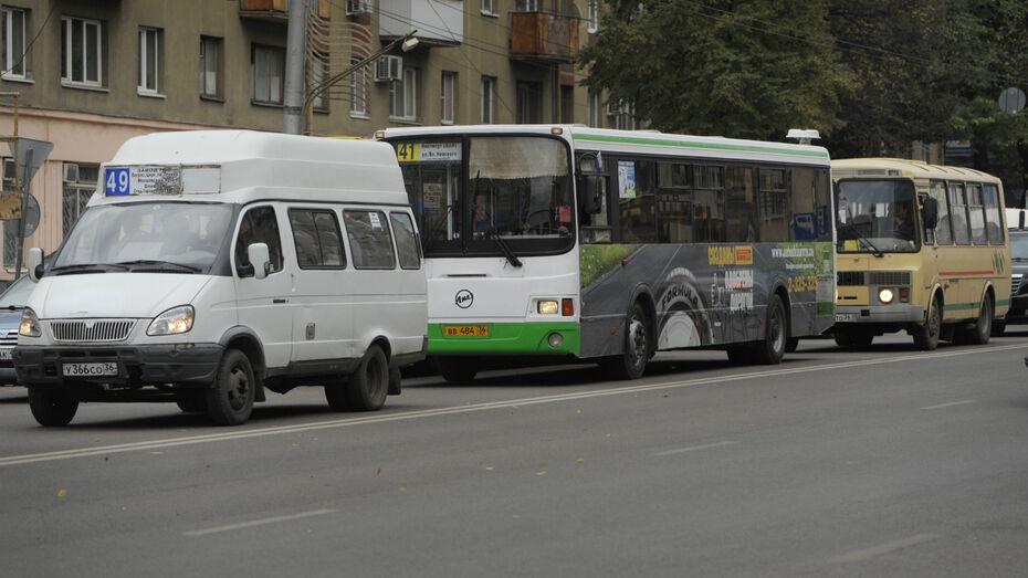 Воронежцам показали схему выделенных полос для автобусов на Плехановской