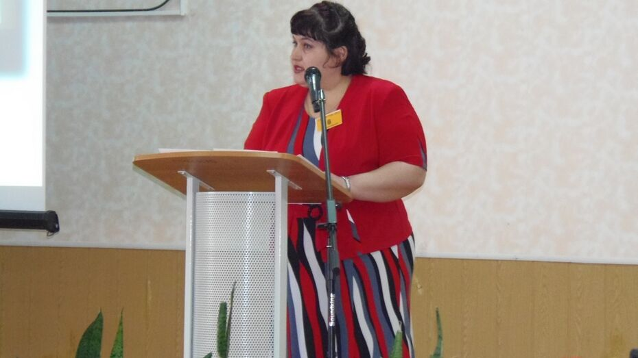 Верхнемамонский учитель стала лауреатом областного этапа конкурса «Учитель года»