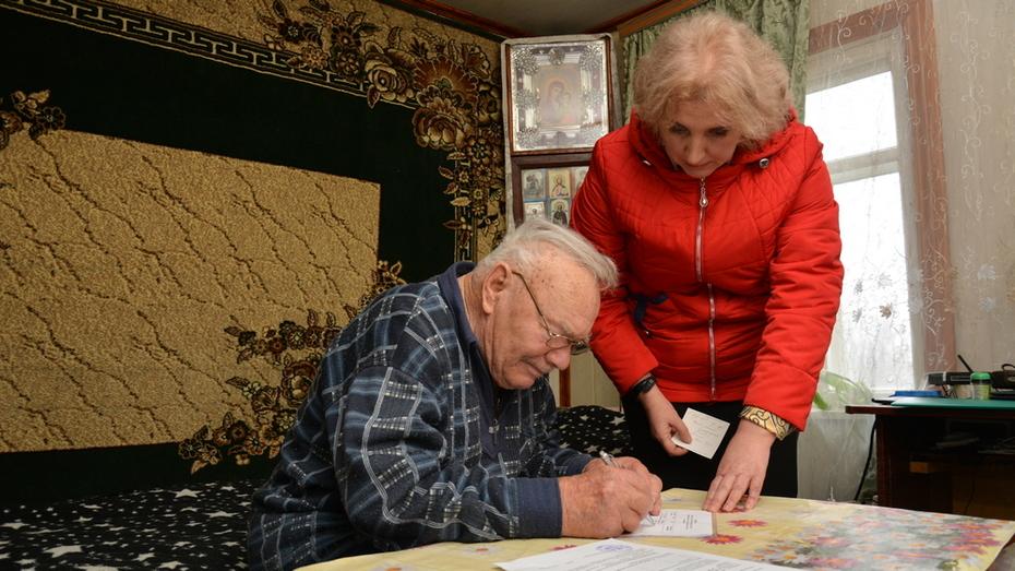 Ветеран из острогожского села Коротояк получил субсидию на приобретение жилья
