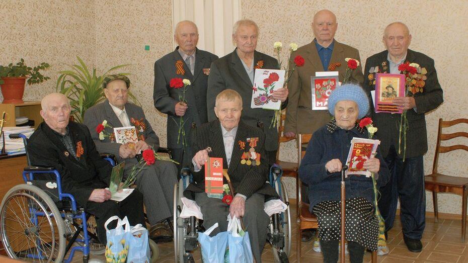 Ветераны получили самодельные открытки от калачеевцев
