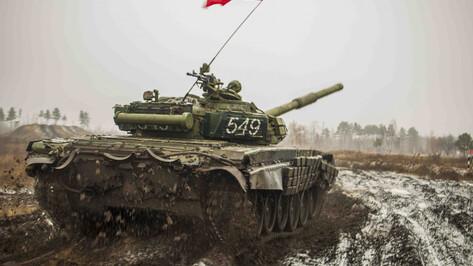 Под Воронежем проведут танковый биатлон